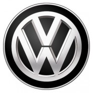 3D Car Logo - VOLKSWAGEN - Ø 50 mm