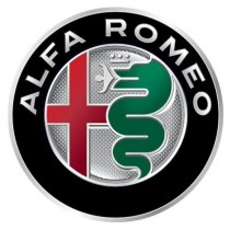 3D Car Logo - ALFA ROMEO - Ø 50 mm
