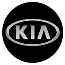 3D Car Logo - KIA - Ø 50 mm