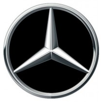 3D Car Logo - MERCEDES - Ø 50 mm