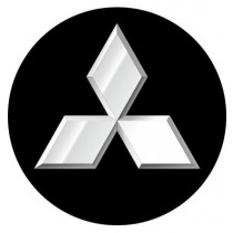 3D Car Logo - MITSUBISHI - Ø 50 mm