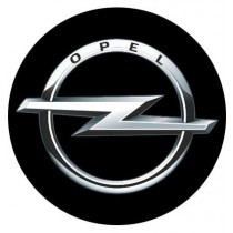 3D Car Logo - OPEL - Ø 50 mm