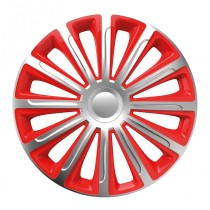 """Trend red&silver 16"""" - puklice"""
