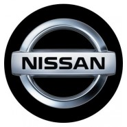 3D Car Logo - NISSAN - Ø 50 mm