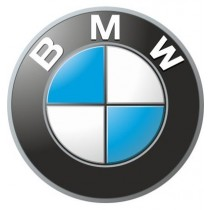 3D Car Logo - BMW - Ø 50 mm