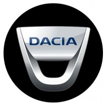 3D Car Logo - DACIA - Ø 50 mm