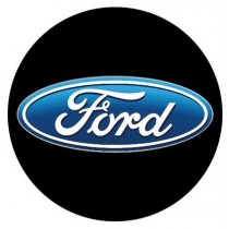3D Car Logo - FORD - Ø 50 mm