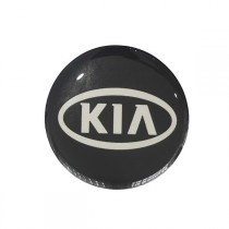 3D Car Logo - KIA - Ø 55 mm