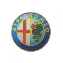 3D Car Logo - ALFA ROMEO - Ø 55 mm